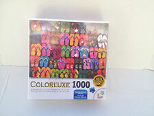 Colorluxe Flip Flops! 1000 Jigsaw Puzzle New Sealed