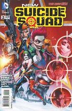 NEW SUICIDE SQUAD #2 1ST PRINTING NEW 52 JOKERS DAUGHTER SUICIDE SQUAD MOVIE