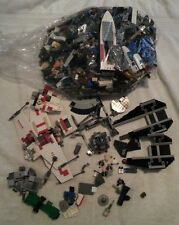 Lego Over 6.5 Pounds Lots of Star Wars incomplete 6212 x-wing, 8087 tie defender