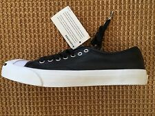 Converse Jack Purcell Leather Ox Black/Natura 144289C 8.5