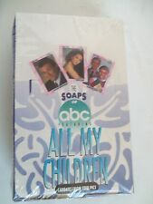 """VINTAGE BOX 23  PACKS TRADING CARDS  """"ALL MY CHILDREN"""" BY SUSAN LUCCI"""