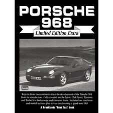 Porsche 968 Limited Edition Extra book paper