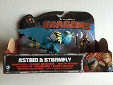 How to Train Your Dragon Rider Astrid & Stormfly Figure Toy New