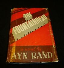 "Ayn Rand's ""The Fountainhead"" Very Early Bobbs Merrill First Edition"