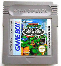 Turtles 2 - back from the sewers -  Nintendo GameBoy - GB - Nur Modul