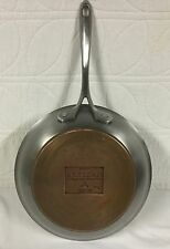 "10 "" Artisan HEAVY Professional Copper and Stainless Sauté Fry Pan"