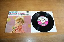 "Petula Clark / France 7"" Record / CHARIOT EP / Vogue EPL 8000"