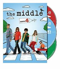 The Middle . The Complete Season 4 . Patricia Heaton . Neil Flynn . 3 DVD . NEU