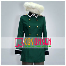Cosonsen APH Axis Powers Hetalia Switzerland Cosplay Costume All Size Green