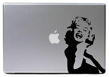 "Apple MacBook Air Pro 13"" MARYLIN MONROE Retro Aufkleber Sticker Skin Decal 060"