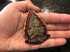 TRIBE Navy Seal Team 6 DEVGRU Arrow Shape ST6 Red Squadron SOCCOM Challenge Coin