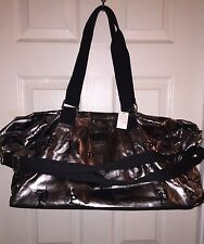 VICTORIA'S SECRET PINK Monogram DUFFLE TOTE WEEKEND LUGGAGE BAG ~NWT