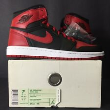 2009 DS NEW NIKE AIR JORDAN I 1 RETRO HIGH DMP BULLS MEN 7.5 WOMEN 9 BRED 6 7 8