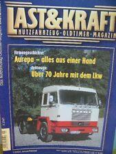 Ultima & Kraft Veicoli commerciali rivista Auto d'epoca Band 1/2004