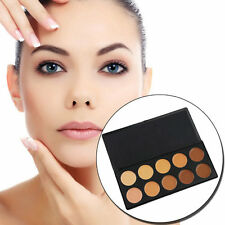 Pro 10 Color Camouflage Concealer Palette Eye Face Cosmetic Makeup Cream DI