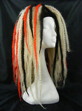 KRINKLEPUFFS BLONDE RED BLACK HAIR FALLS CYBERLOX DREADS CYBER GOTH