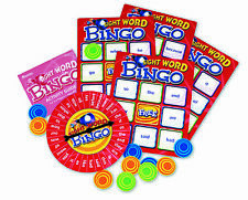 Vista Word BINGO GIOCO-CHILDREN'S Educational alfabetizzazione lettura Lotto Game