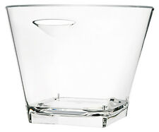 Vasque à champagne Quadra transparente - Verrerie de la Marne