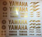 Yamaha R1 oder R6 in Gold Motorsport Aufkleber Racing Set für Motorrad Auto