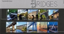 GB 2015 BRIDGES PRESENTATION PACK No 508 MINT STAMP SET SG3679-86 #508
