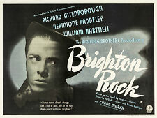 "Brighton Rock 1947 16"" x 12"" Reproduction Movie Poster Photograph"