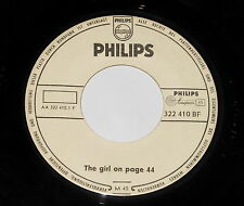 "The Four Lads - 7"" Single - The Girl On Page 44 - PHILIPS 322 410 BF - PROMO???"
