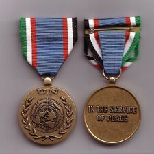 UN United Nations medal for Iran Iraq UNIIMOG Mission