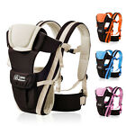 Breathable Ergonomic Baby Carrier Newborn Kid Pouch Front Back Infant Backpack