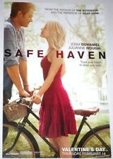 Safe Haven Movie Poster Josh Duhamel Julianne Hough Love Story 17x11 NEW