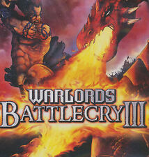 WARLORDS BATTLECRY III - Battle Cry 3 Strategy PC Game for Windows 98-Xp-Vista-7
