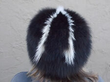 Skunk Hat, Prime winter fur from South Dakota. Made in USA
