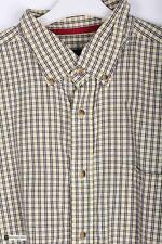Levi's Uomo Manica Corta Regular Camicia Casual Giallo Taglia controllo di XL