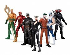 DC NEW 52 ACTION FIGURE 7 Pack SUPER HEROES VS super cattivi JUSTICE LEAGUE