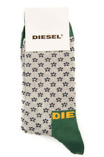 DIESEL Size L Men's HYMON Floral Pattern Casual Socks Made in Italy From POPPRI