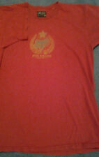 T Shirt Foxracing inc. Claret Red Cotton Size Medium Used Good Condition