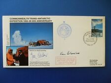 1988 TRANSANTARCTIC EXPEDITION COVER SIGNED BY TOM COTCHER [ THE BILL ]