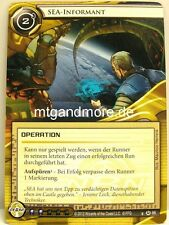 Android Netrunner LCG - 1x Sea-informatore #086 - Base Set tedesco