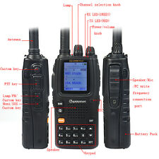 New Wouxun KGUV9D(Plus) Walkie Talkie UHF/VHF TX/RX FM Radio Cross-Band Repeater
