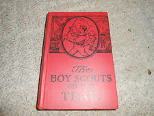 The Boy Scouts On The Trail 1921 Edition Book George Durston