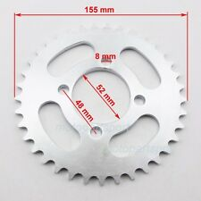 420 37 T 52mm Rear Chain Sprocket For Chinese ATV Quad Pit Dirt Bike Motorcycle