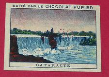 CHROMO PUPIER 1930 ALBUM JOLIES IMAGES SERIE 8 PHENOMENE NATURE CATARACTE