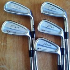 Titleist CB 712 Iron Set 6-PW, KBS TOUR S by FST Stiff Flex Steel Shafts!