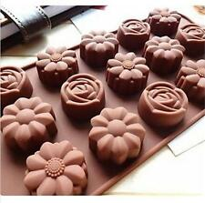 Kaffeefarbe Backform Silikonform Hohlkörperform für Schokolade Trüffel Muffin