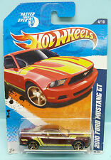 2169 HOT WHEELS / CARTE US / FASTER THAN EVER 2010 /FORD MUSTANG GT VIOLET 1/64