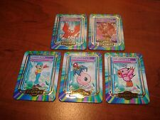 Digimon Taco Bell metal card set Birdramon-Biyomon-Garudamon-Sora-Yokomon