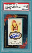 2009 Topps A & G Dominique Wilkins Auto Issue - #DOW PSA 10! Hawks!