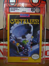 ***** BRAND NEW FACTORY SEALED VGA 85 Silver NM+ Castelian NINTENDO NES - NTSC