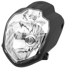 honda street fighter motorcycle headlight custom  scheinwerfer lampe universal