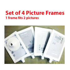 ikea set of 4 frames tolsby displays 2 pictures in one frame white new