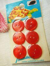 A19 bouton ancien plaque rouge lumineux  LA TORTUE  Iminacre